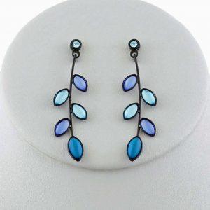 Czech glass earrings 2