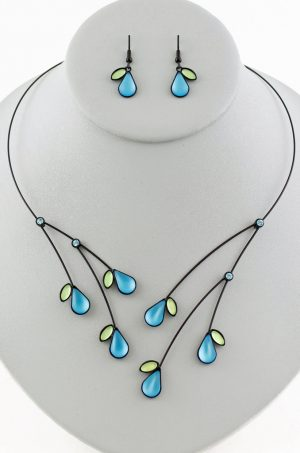 Czech glass necklace 3