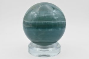 Aqua blue calcite sphere