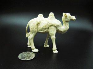 Camel carved from moose antler
