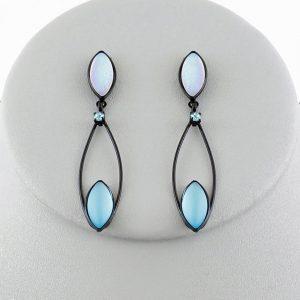 Czech glass earrings 1