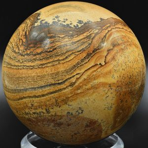 Picture jasper sphere